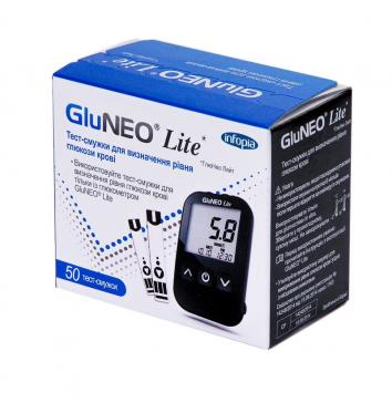 Тест-полоски GluNeo Lite 50 шт купить в интернет-магазине Авимед