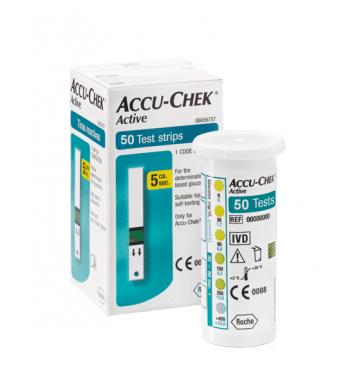 Тест-полоски Accu-Chek Active 50 шт купить в интернет-магазине Авимед