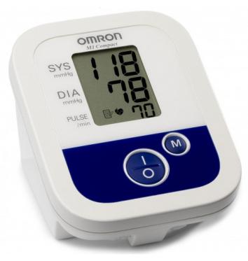 Полуавтоматический тонометр на плечо OMRON M1 Compact купить в интернет-магазине Авимед