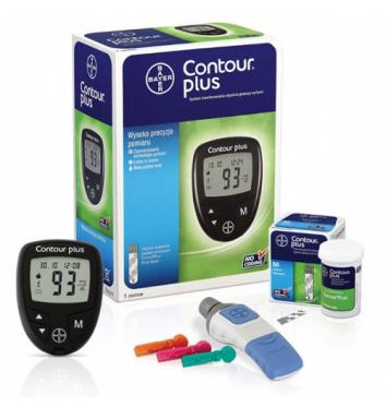 Глюкометр Bayer Contour Plus купить в интернет-магазине Авимед