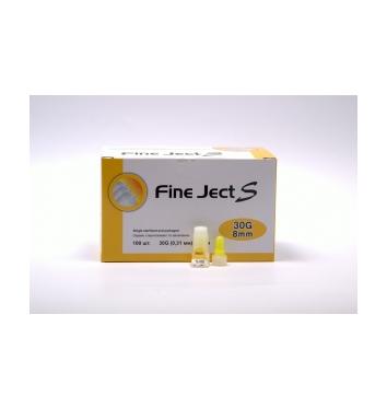 Иглы для инсулиновых шприц-ручек Fine Ject S 30G(0,31mm)8mm, 100 шт купить в интернет-магазине Авимед