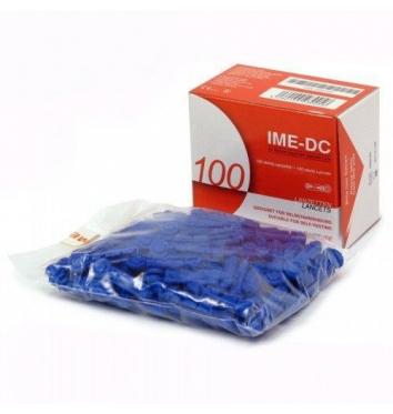 Ланцеты IME-DC 100 шт купить в интернет-магазине Авимед