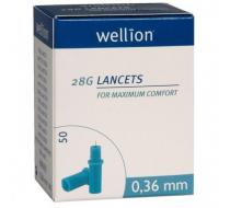 Ланцеты Wellion 28G 50 шт