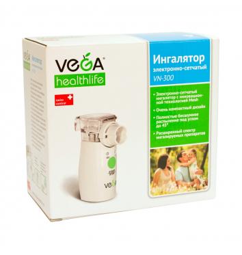 Ингалятор электронно-сетчатый МЭШ VEGA VN-300 купить в интернет-магазине Авимед