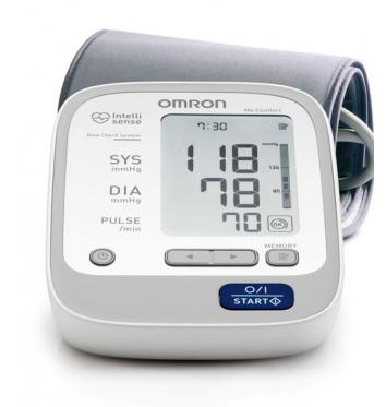Автоматический тонометр на плечо OMRON M6 Comfort купить в интернет-магазине Авимед
