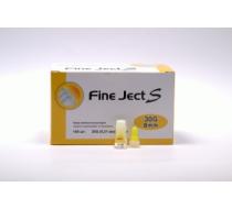 Иглы для инсулиновых шприц-ручек Fine Ject S 30G(0,31mm)8mm, 100 шт