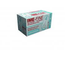 Игла IME-FINE одноразовая стерильная для шприц-ручек 31Gх4.0 мм 100шт