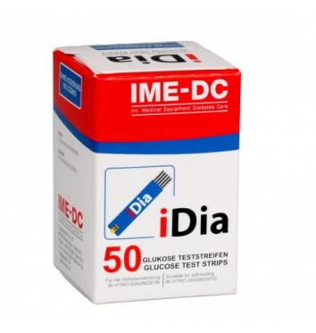 Тест-полоски IME-DC IDIA 50 шт купить в интернет-магазине Авимед