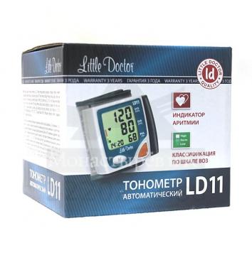 Автоматический тонометр на запястье Little Doctor LD-11 купить в интернет-магазине Авимед