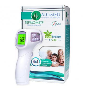 Бесконтактный инфракрасный термометр ArhiMED Ecotherm ST330 купить в интернет-магазине Авимед