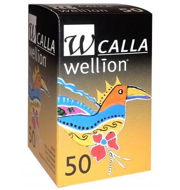Акционный набор Глюкометр Wellion Calla Light + 50 тест-полосок + 50 ланцетов купить в интернет-магазине Авимед