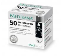 Тест-полоски MediTouch-2 Medisana 50 шт