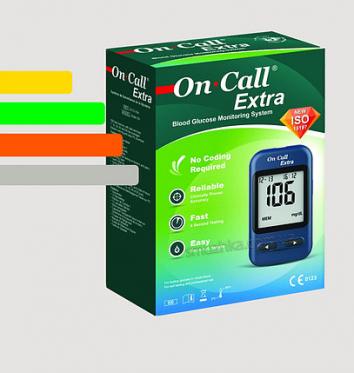 Глюкометр On-Call Extra купить в интернет-магазине Авимед