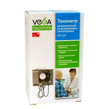 Механический тонометр Vega VM-210 купить в интернет-магазине Авимед