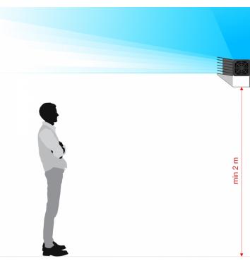 Экранированный облучатель с жалюзи BactoSfera EKRAN Jalousie 30 купить в интернет-магазине Авимед
