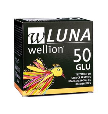 Тест-полоски Wellion Luna глюкоза 50 шт купить в интернет-магазине Авимед