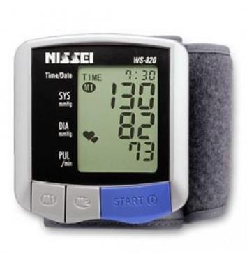 Автоматический тонометр на запястье Nissei WS-820 купить в интернет-магазине Авимед