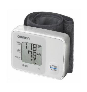 Автоматический тонометр на запястье OMRON RS1 купить в интернет-магазине Авимед