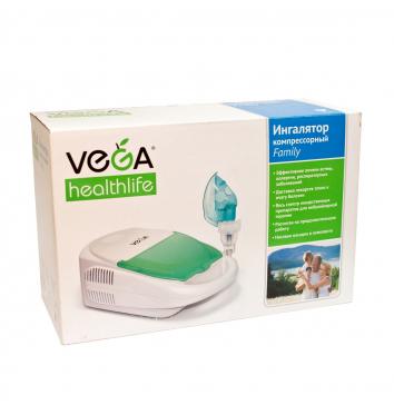 Компрессорный ингалятор VEGA «Family» купить в интернет-магазине Авимед