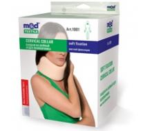 Бандаж на шейный отдел позвоночника мягкой фиксации Medtextile 1001