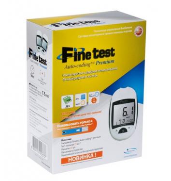 Глюкометр Finetest Auto-Coding Premium (100 тест-полосок) купить в интернет-магазине Авимед