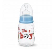 """Бутылочка для кормления, 125 мл ортодонтическая соска """"I'm a Boy"""""""
