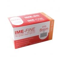 Игла IME-FINE одноразовая стерильная для шприц-ручек 31Gх8.0 мм 100шт