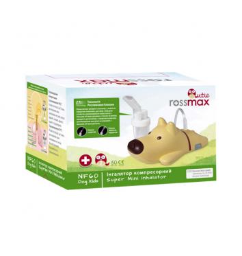 Компрессорный ингалятор Rossmax NF60 DOG Kids купить в интернет-магазине Авимед