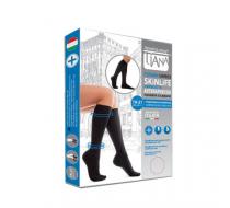 Компрессионные гольфы мужские и женские Unisex SkinLife Tiana 140 ден тип 950 (черный)