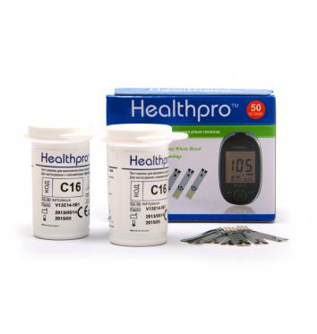 Тест-полоски Healthpro 50 шт купить в интернет-магазине Авимед