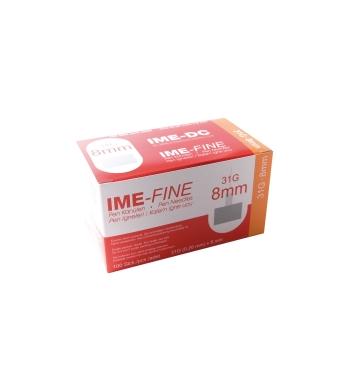 Игла IME-FINE одноразовая стерильная для шприц-ручек 31Gх8.0 мм 100шт купить в интернет-магазине Авимед