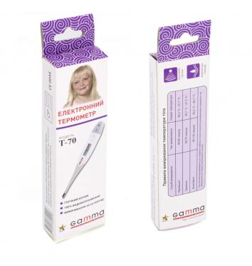 Термометр Gamma Т 70 купить в интернет-магазине Авимед