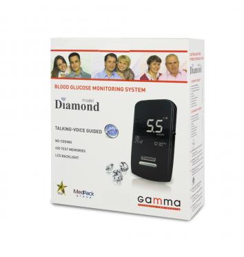 Глюкометр Gamma Diamond купить в интернет-магазине Авимед