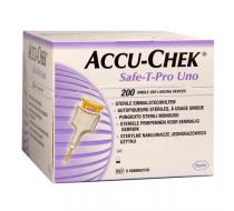 Ланцеты автоматические одноразовые Accu-Chek Safe-T-Pro Uno 200 шт