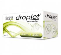 Иглы для инсулиновых шприц-ручек Дроплет 4мм 32G 100 шт