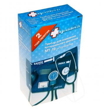 Тонометр механический Meditech МТ-10 с фонендоскопом купить в интернет-магазине Авимед