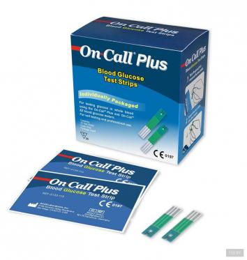 Тест-полоски On Call Plus 25 шт. купить в интернет-магазине Авимед
