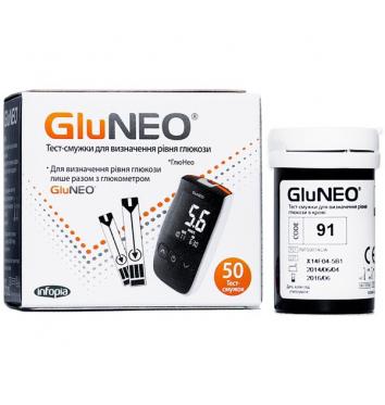 Тест-полоски GluNeo 50 шт купить в интернет-магазине Авимед