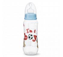 """Бутылочка для кормления, 250 мл, соска ортодонтическая """"I'm a Boy"""""""
