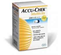 Ланцеты Accu-Chek Multiclix 200+4 шт