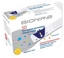 Тест-полоски Bionime Rightest GS300 50 шт
