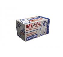 Игла IME-FINE одноразовая стерильная для шприц-ручек 31Gх6.0 мм 100шт