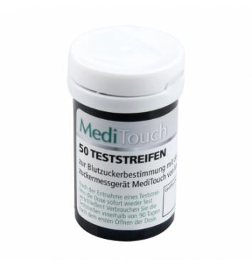 Тест-полоски MediTouch Medisana 50 шт купить в интернет-магазине Авимед
