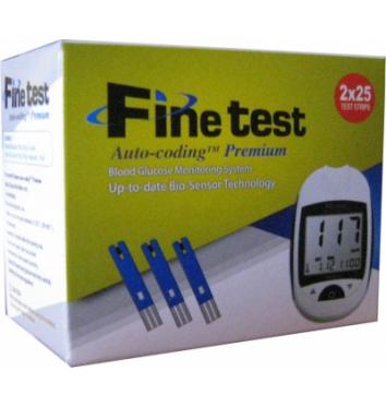 Глюкометр Finetest Auto-Coding Premium (50 тест-полосок) купить в интернет-магазине Авимед