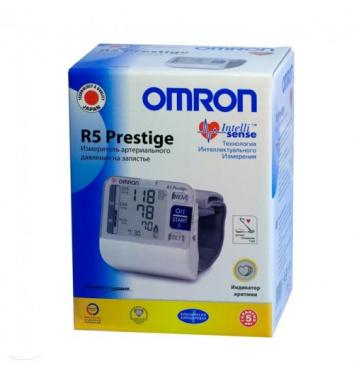 Автоматический тонометр на запястье OMRON R5 Prestige купить в интернет-магазине Авимед