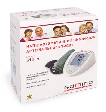 Полуавтоматический тонометр Gamma M1-S купить в интернет-магазине Авимед